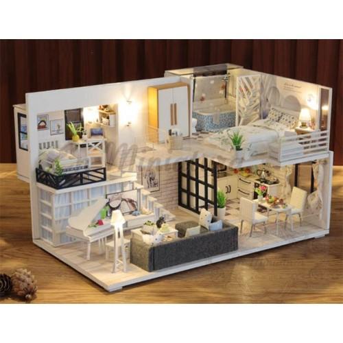 Kit de Casa de muñecas Completa, Moderna