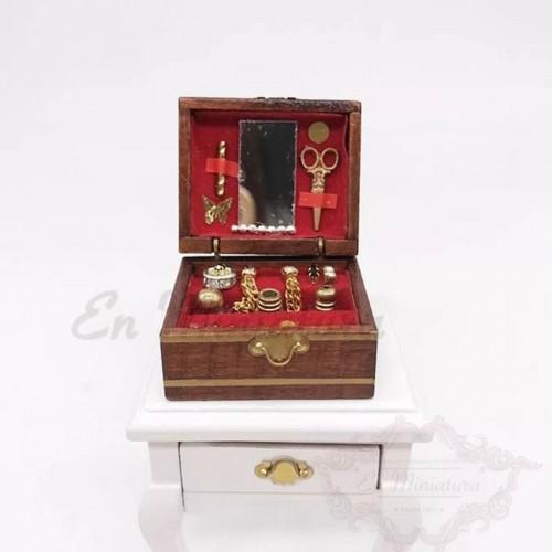 Miniature Jewelry Box