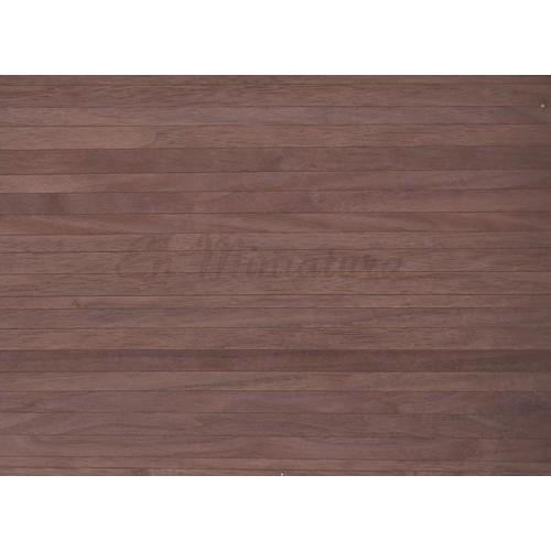 Suelo de madera adhesivo nogal casa de munecas