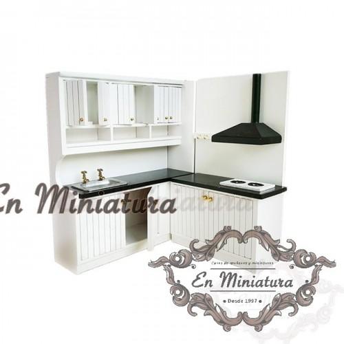 Modern full kitchen