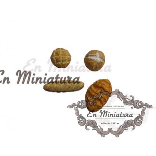 Miniature breads- 4 units
