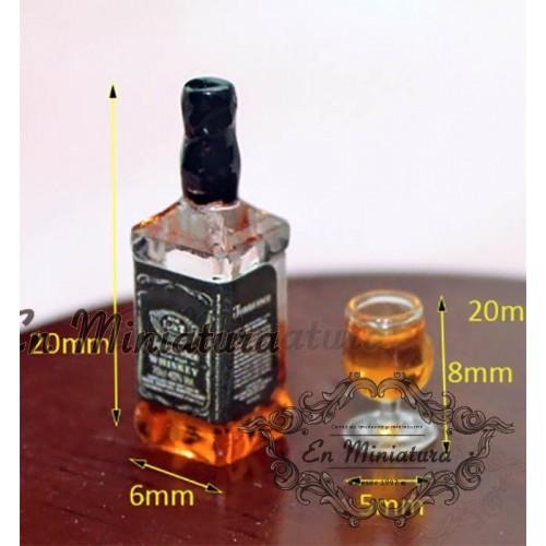 Botella de Whisky Jack Daniels