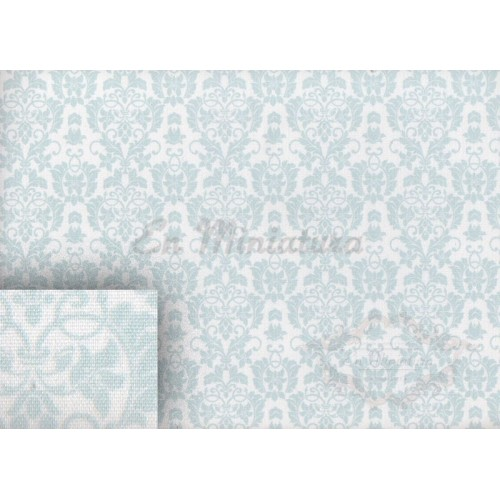 Wallpaper Fabric- Vichy Blue