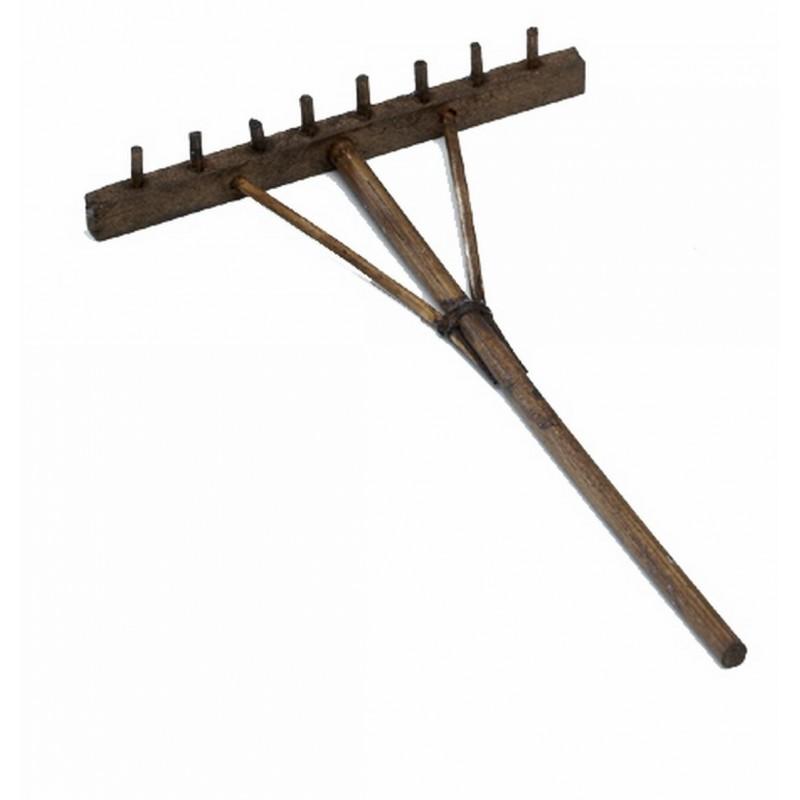Rastrillo de madera