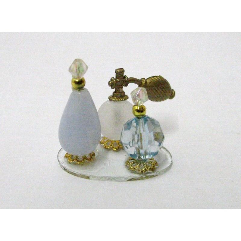 Bandeja de perfumes