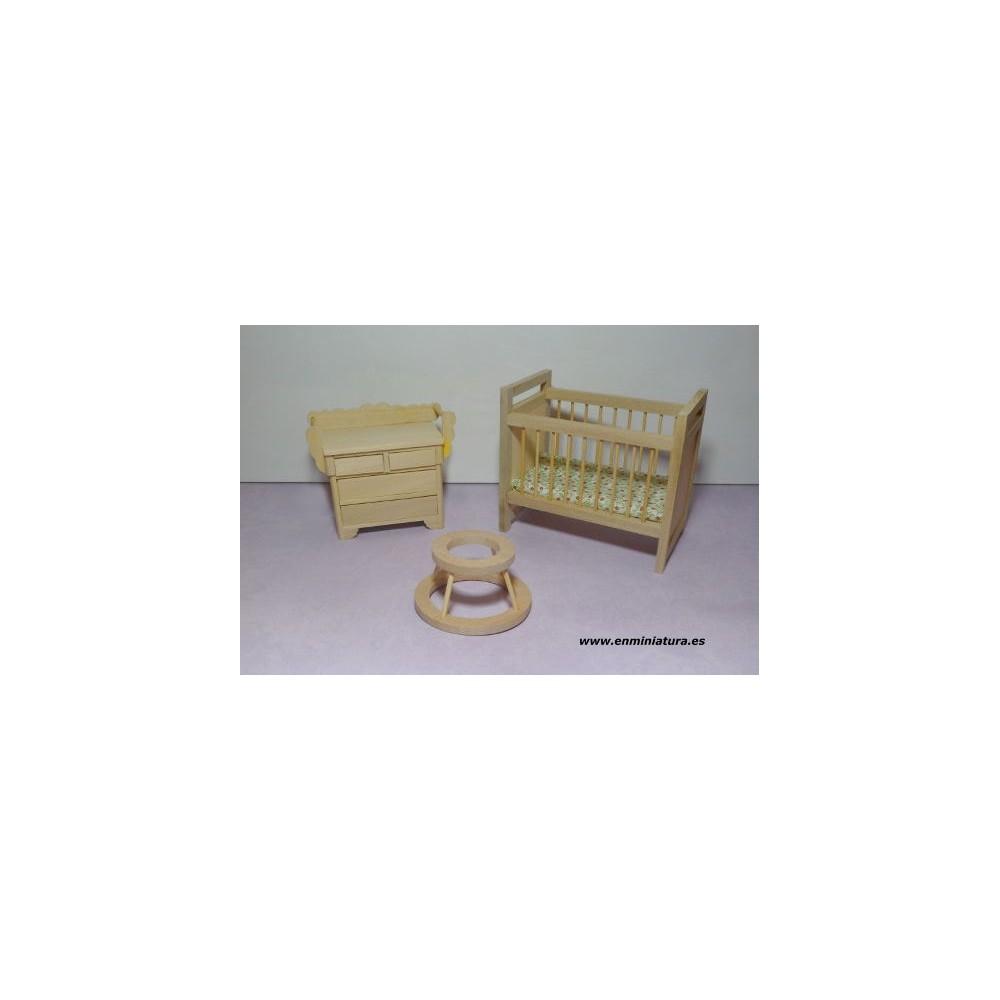 Comprar online muebles beb madera natural para casas de - Muebles madera natural ...