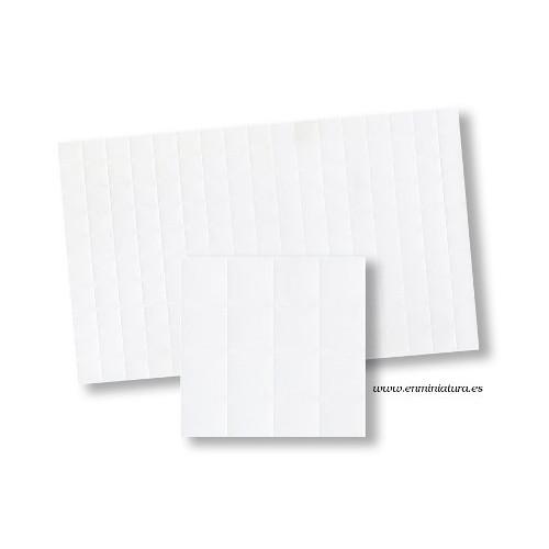 Azulejos en blanco 42cm x 22,5cm