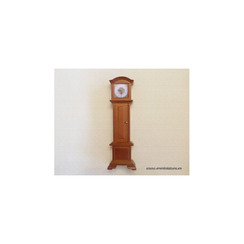 Reloj de pie cerezo