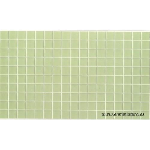 Azulejos color verde