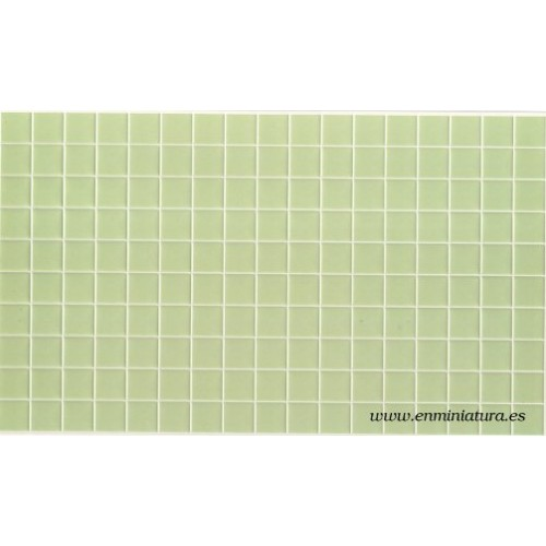 Tiles green color