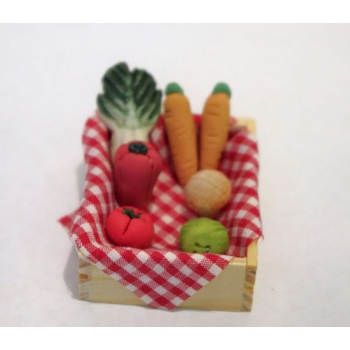 Barquilla de verduras