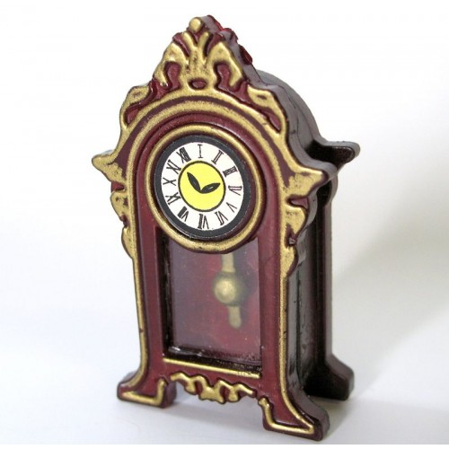 Reloj de péndulo en miniatura