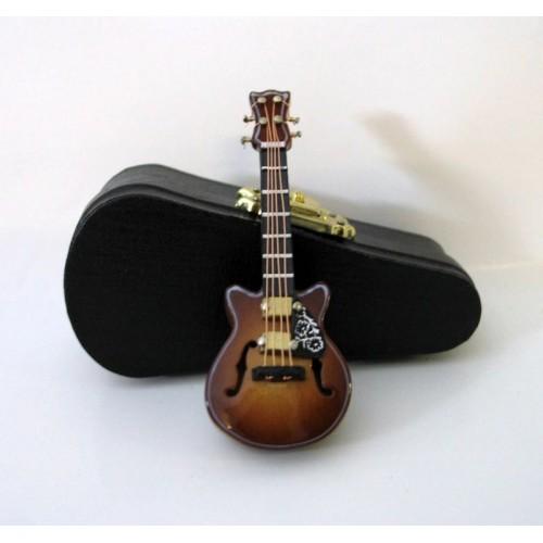 Guitarra eléctrica con caja