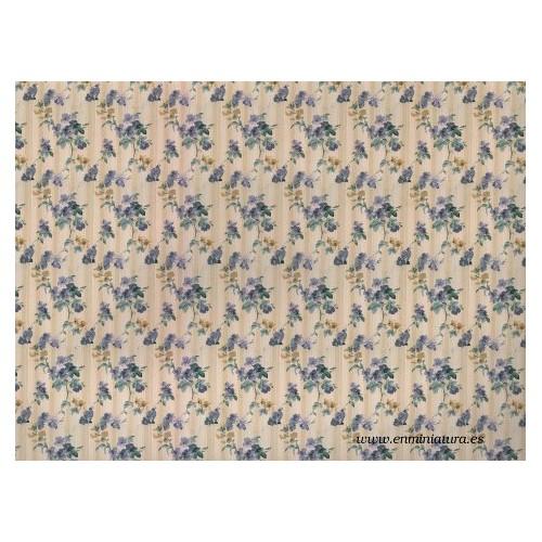 Mallow flower paper