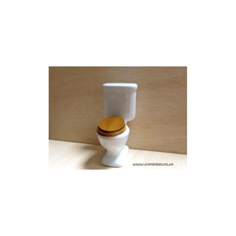 W.C. de porcelana blanco
