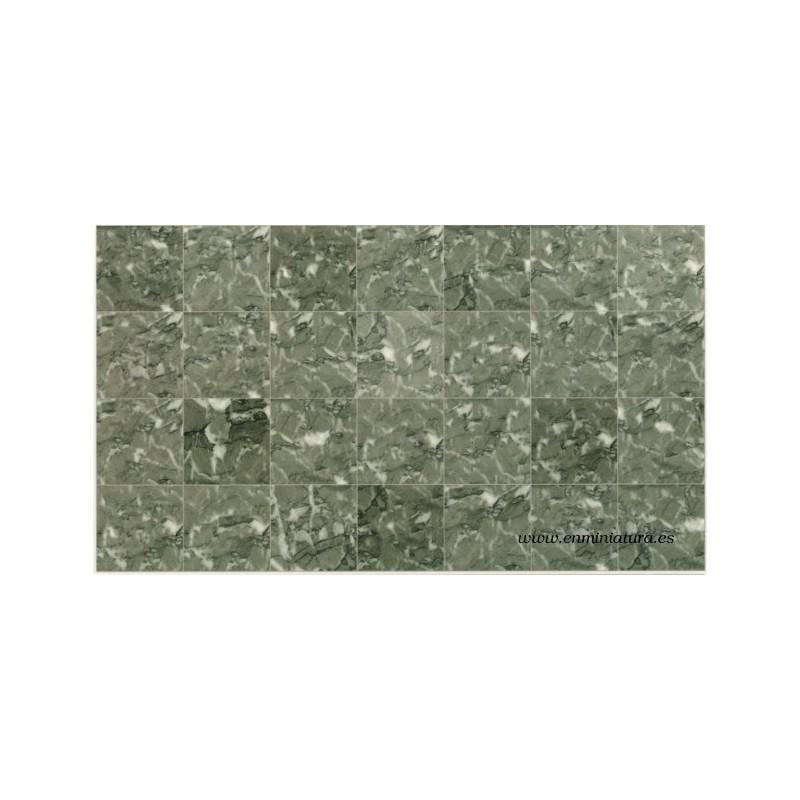 Comprar on line papel casa de mu ecas m rmol gris verdoso for Suelo marmol gris