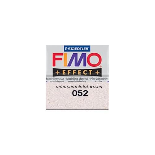Fimo effect nº 052, blanco con brillantina