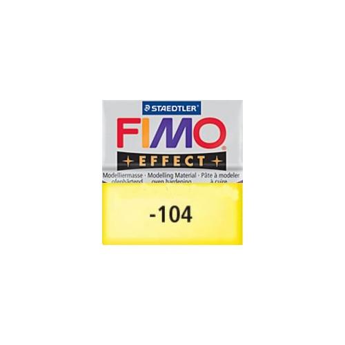Fimo effect nº 104, amarillo transparente