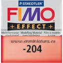 Fimo effect nº 204, transparent red