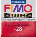 Fimo effect nº 28, rojo metalizado