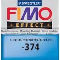 Fimo effect nº 374, azul transparente