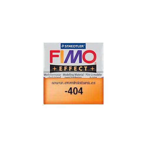 Fimo effect nº 404, mandarina transparente