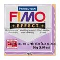 Fimo effect 604, translucent lilac