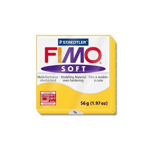 Fimo soft nº 16 yellow