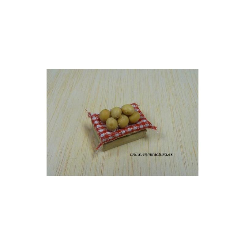 Barquilla con patatas