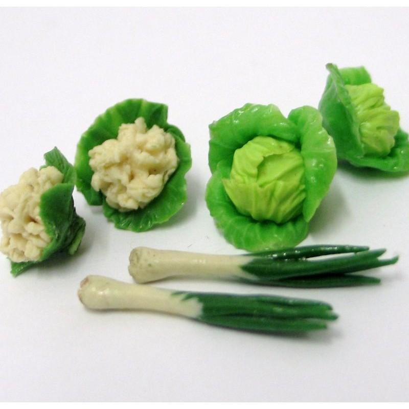 Verduras en miniatura