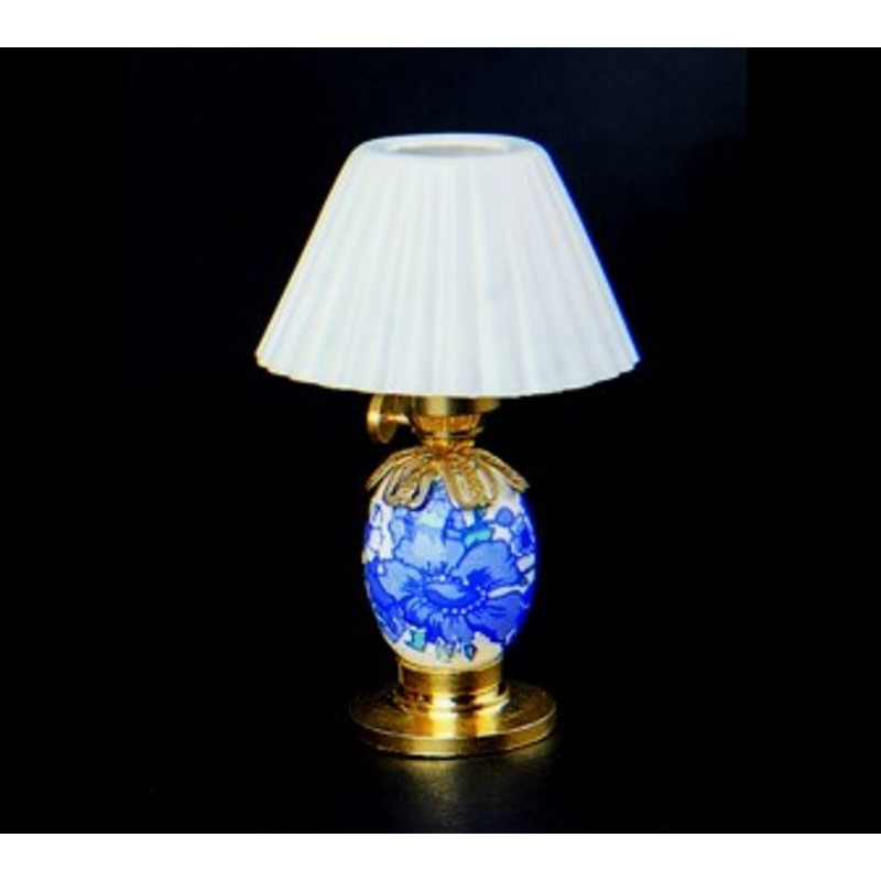 Lámpara mesilla porcelana