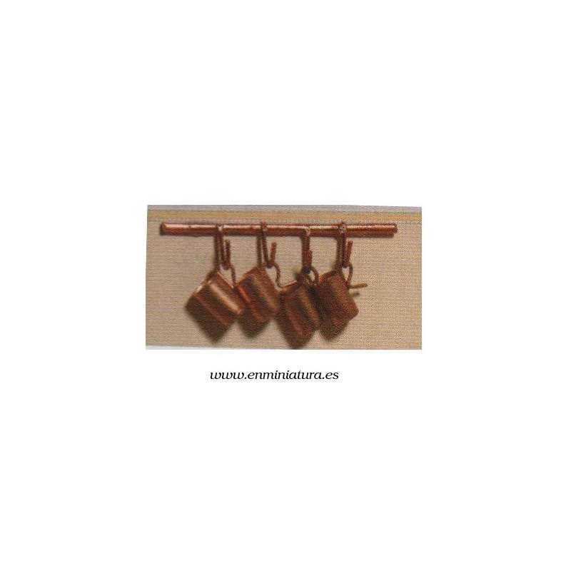 Jarritas de cobre