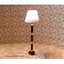 Lámpara de pie con cable