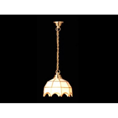 Lámpara techo de tiffany