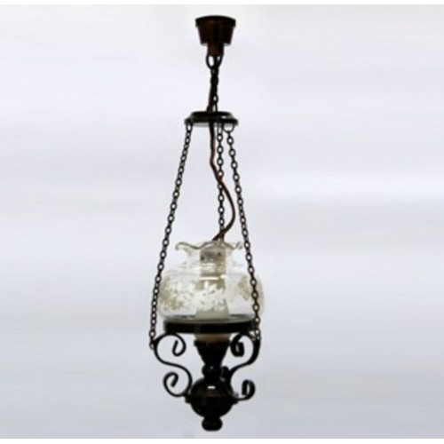 Lámpara techo tipo candil