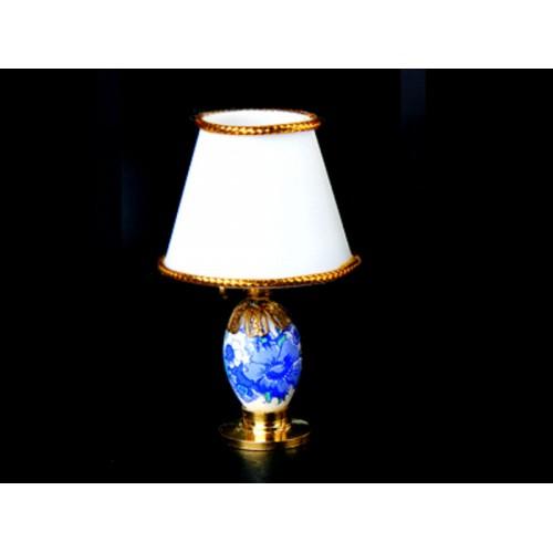 Lámpara a pila led de porcelana