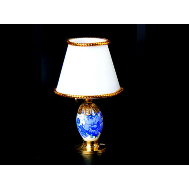 Lámpara led de porcelana