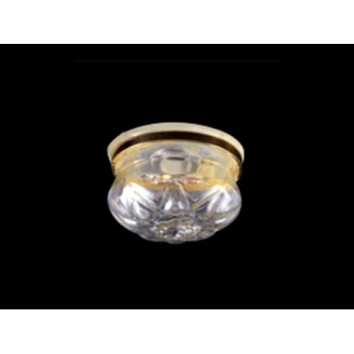 Plafón de cristal led