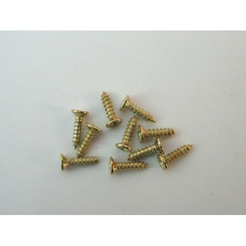 bolsa de 20 tornillos minis 9mm