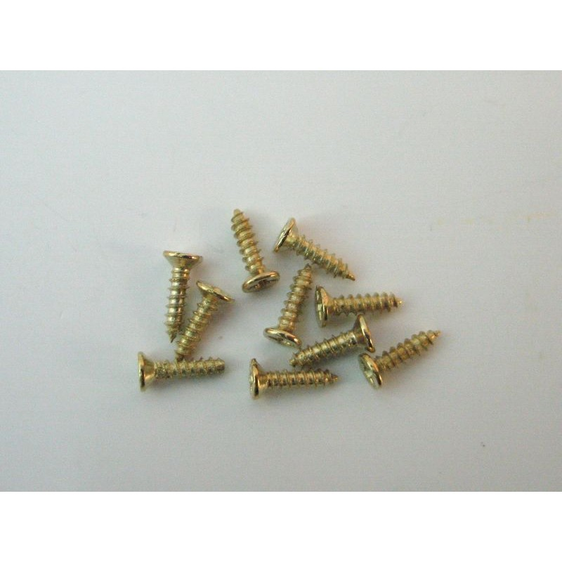 Bolsa 20 tornillos minis 9mm