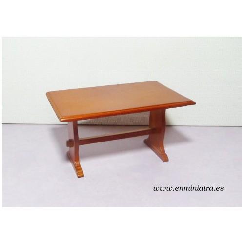 Mesa comedor color cerezo