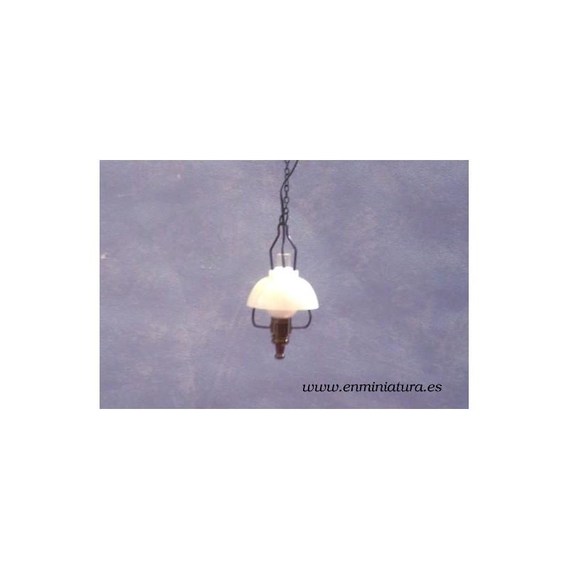 L mpara techo pantalla blanca - Pantalla lampara techo ...