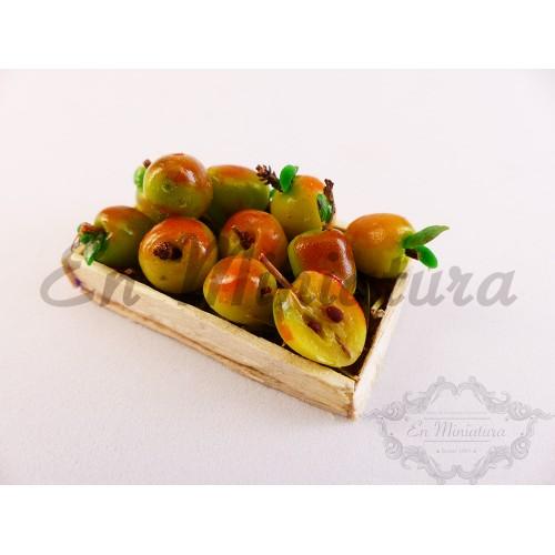 Barquilla de manzanas