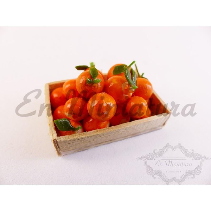 Barquillas de naranjas