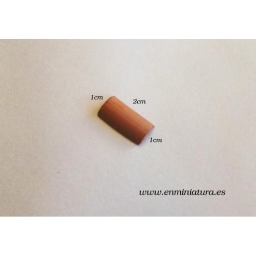 Teja curva 2cm para maquetas en miniatura