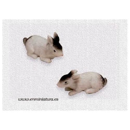 Juego de dos conejos