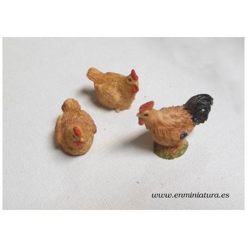 Juego de gallo y gallinas