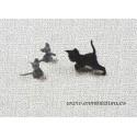Gato y dos ratóncitos