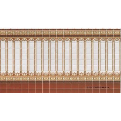 Azulejos dibujos columnas