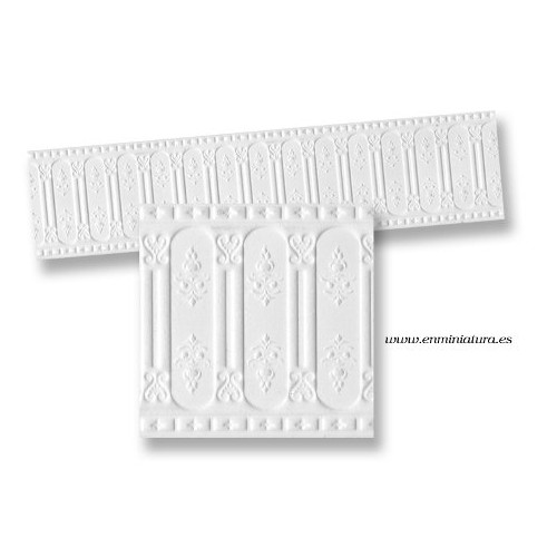 Relief valance